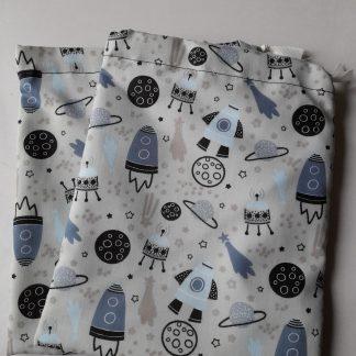 Grey Space wash bag