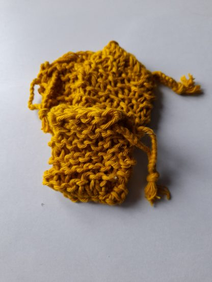 Mustard Soap saver cotton