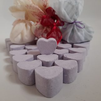 Lavender Bath Heart