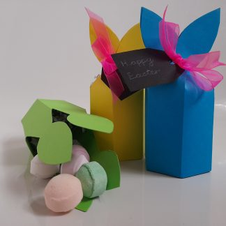 Rabbit box of bath marbles